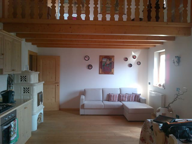 Dolomites charmant appartment - Candide - Wohnung