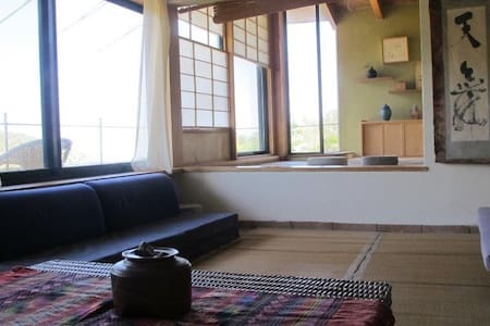 Japanese Style home in nature - Ein Hod - Casa