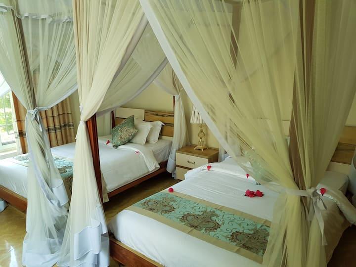 Iso-Relaxation Twin Bedroom