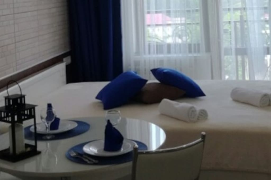 Уютная квартира-студия с видом на море