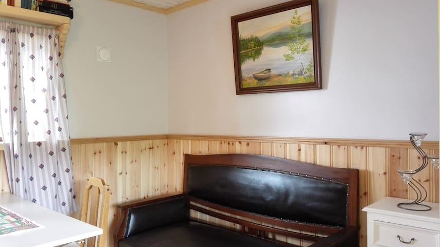 Swedish cottage by Lake Siljan, Mora, Dalarna - Mora - Ev
