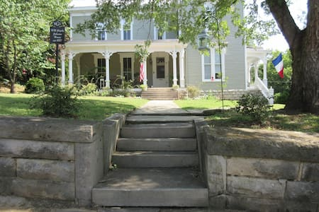 """Steeplechase""  is near the square - Pulaski - House"