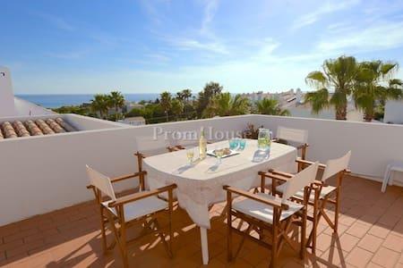 Sunny Sea View Beach Apartment - Vale Rebelho