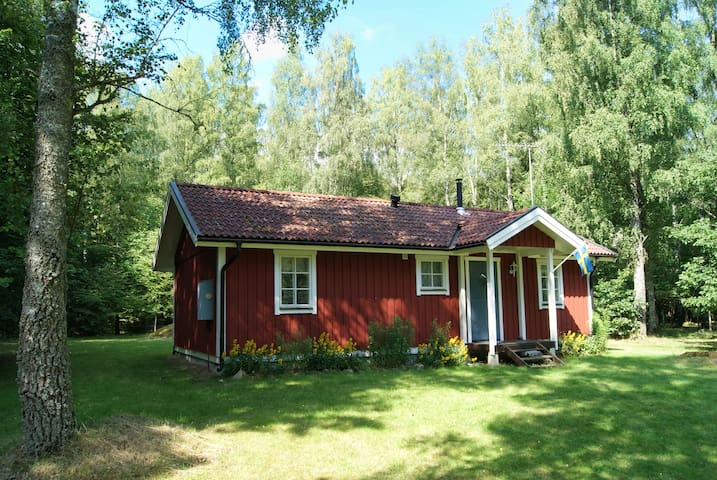 Cottage at lake * Southern Sweden *