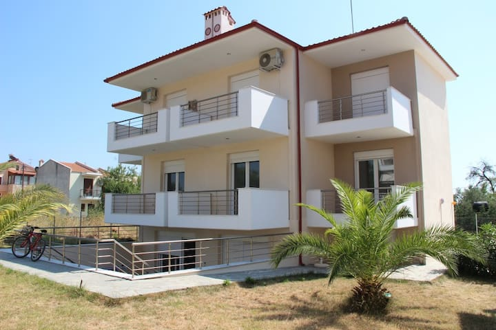 Semi Basement Family Apartment 45sqm in Nikiti