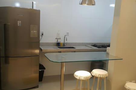 2 suítes, ar, wifi, TV, cozinha!!! - São Luis - Apartment - 2