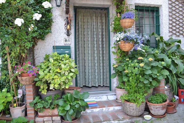 Cottage Romantique de l'artiste