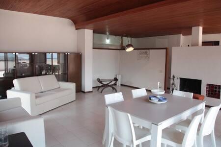 Spacious sea view apartment in Tropea center - Tropea - Pis