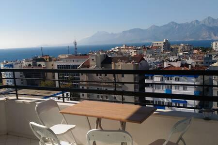Penthouse over top of Antalya next sea & centrum - Muratpaşa
