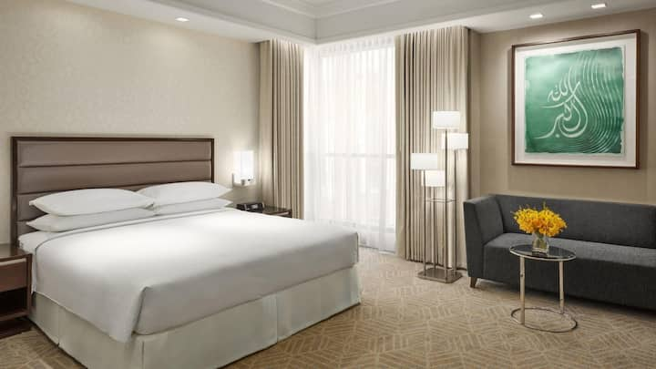 Extraordinary Suite Double Bed At Makkah