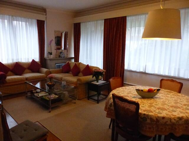 Cosy apartment in residential area of Brussels - Woluwe-Saint-Pierre - Lejlighed