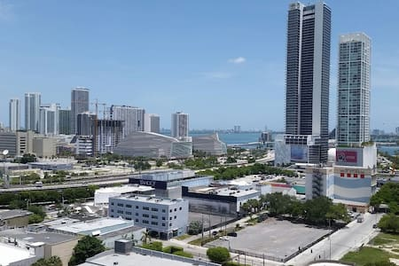 Amazing view in the heart of Miami