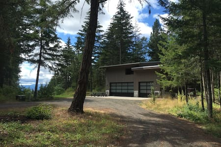 Garage Mahal, modern sanctuary in the woods - White Salmon - Maison
