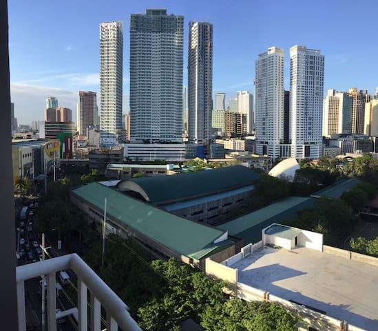 City view of Makate from veranda