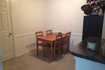 Dinning room- Furniture will remain.
