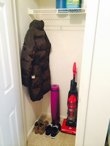 Entry way closet (space is shared)