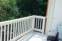 Balcony- Will be partially furnished with different patio furniture