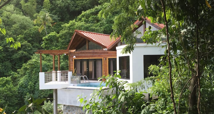 Serrana Villa -Contemporary $1M Piton View Retreat