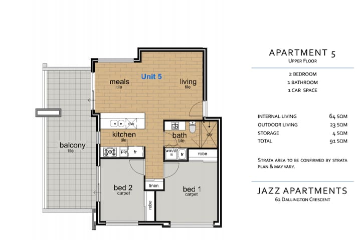 Brand new Central suburb apartment