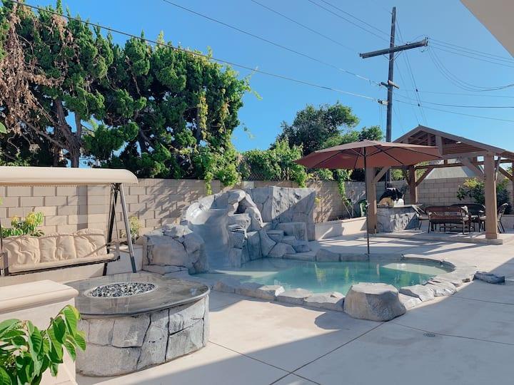 New house 4BE/2BA+Spa+Slide near Beaches, Disney