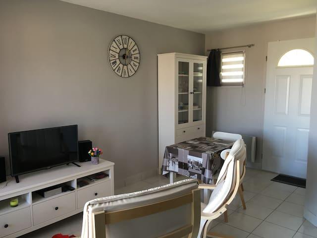 Studio 25m2 résidence calme avec piscine - La Bernerie-en-Retz - Daire