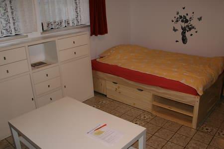 Helle 1 Zi Wohnung im Souterrain - Germering - Ortak mülk