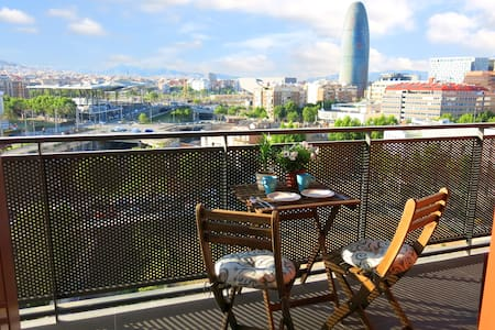 Views!, Double Room + Private Bathroom + Terrace - Barcelona