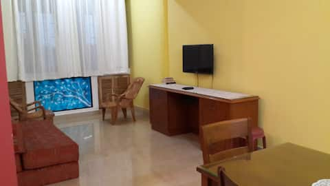 Colva Beach 1BHK Apartment with Seaview.