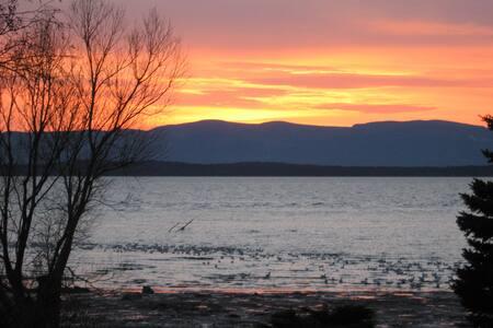 Logement situé en bordure du fleuve - L'Islet - Aamiaismajoitus