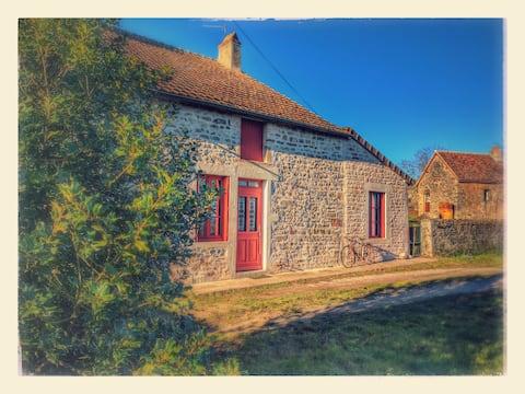 田舎の家(ボーヌ周辺)