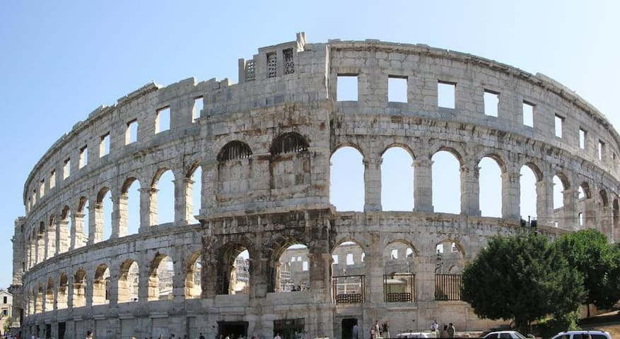 The Amphitheater, Pula