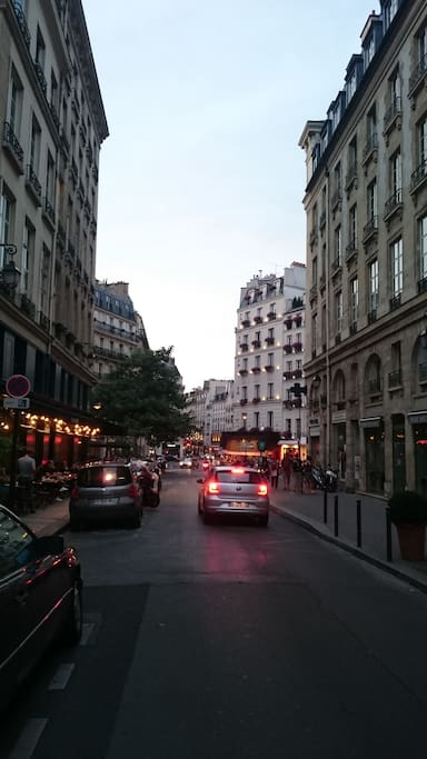 in the heart of Paris