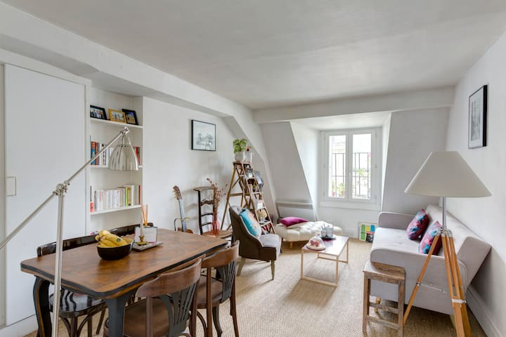 Charming apartment in Saint Germain - París - Apartamento