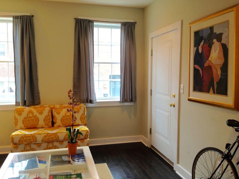 Bright & Fun Living Room