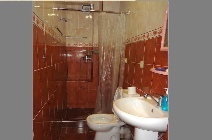 Отдельная ванная комната отдельно