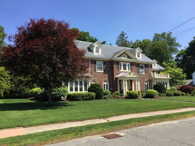 Brick Georgian Home near Boston - Stoneham - Dům