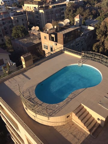 Amazing apt pool , parking included - Cairo  - Appartement