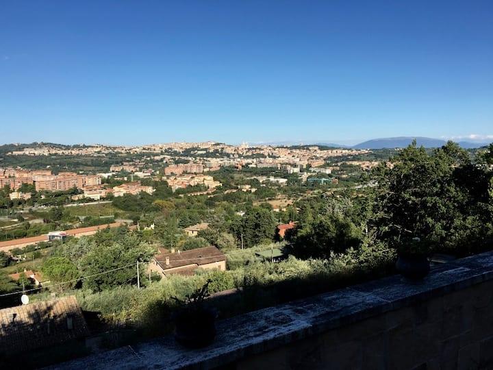 Villa vicino al centro storico di Perugia