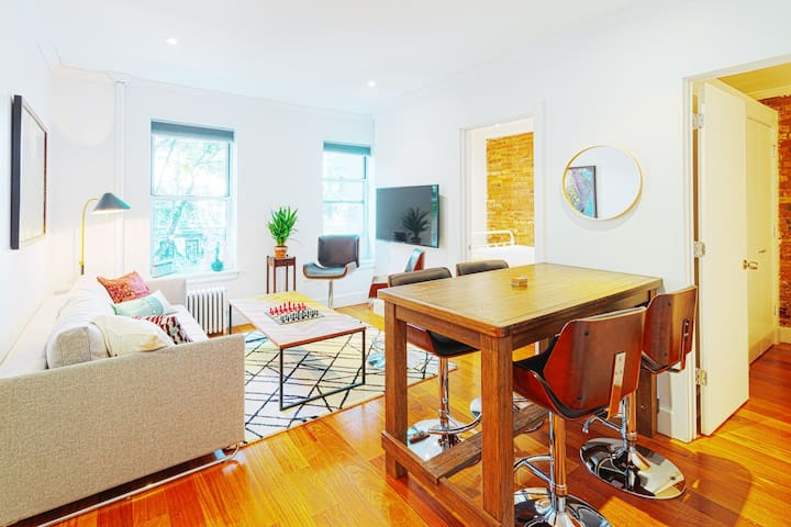 Gorgeous new 3BR/2BA apartment, perfect location - New York - Flat