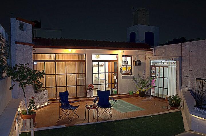 Amplia y luminosa habitación en Ciudad de México