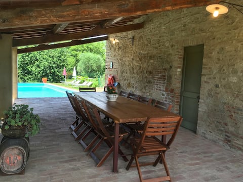 Pasqui Villas: Tribbio 3BDR,private pool,WiFi