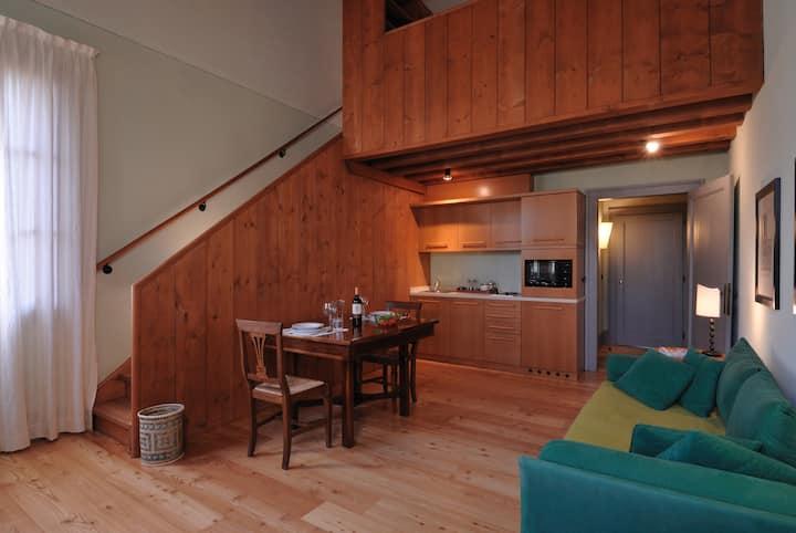 Elleboro - studio apartment in historical estate