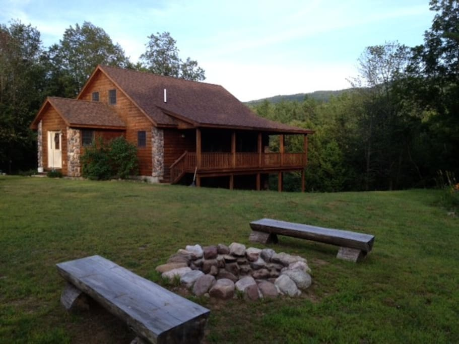 Escape to the adirondack cabin cabanes louer for Cabine vicino a whiteface mountain