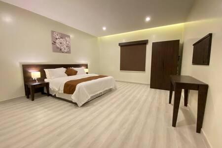 شقة بتصميم فندقي تتسع ل 7 أشخاص بخدمة ذاتية