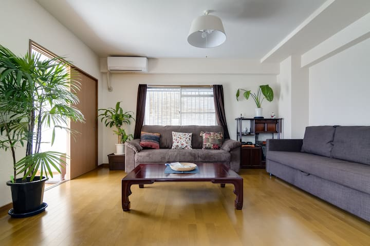 3Bd Maisonette w/parking 1 min. from JR Line - Ōsaka-shi - Condominium