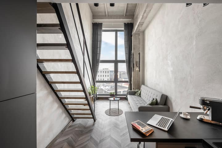 Vilnius Loft with a View