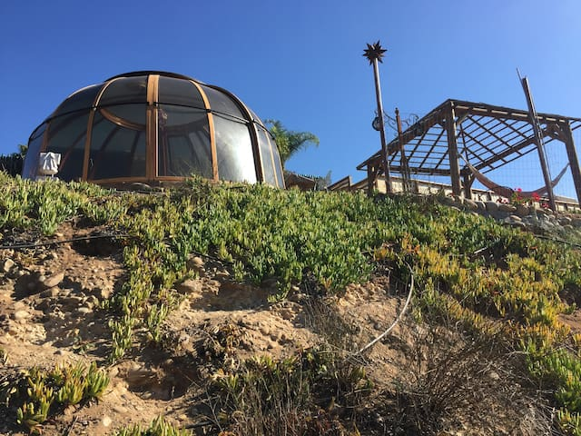 Dome camping fun