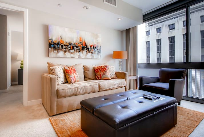 New! 1 bedroom apt in D.C.'s Penn Quarter