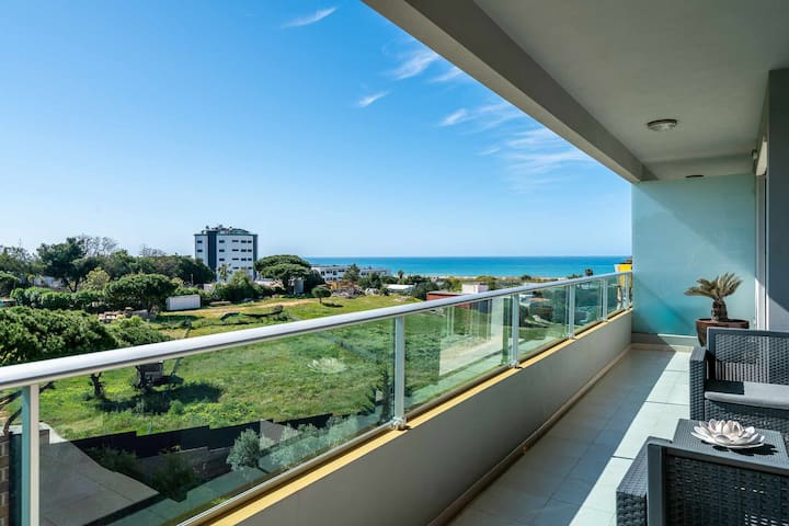 VilamouraSun Carteira Mar T2 - Balcony Ocean View, 2 Bedroom, Wifi