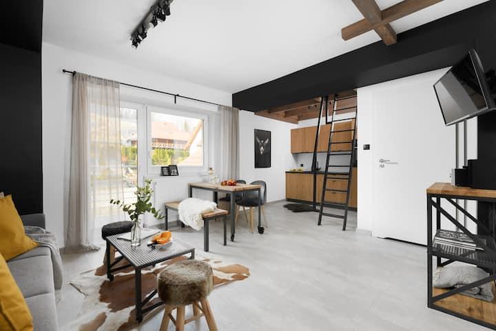 Aparthotel Narciarska2-Apartament 7-os z antresolą